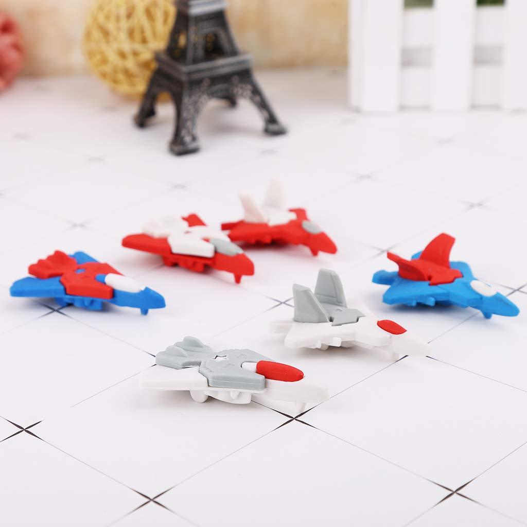 Gomme da cancellare a forma di aereo Fighter NKYSM