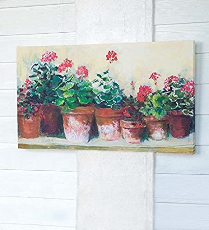 Floral Indoor Outdoor Canvas Artwork New For Summer Plow And Hearth Wall Art