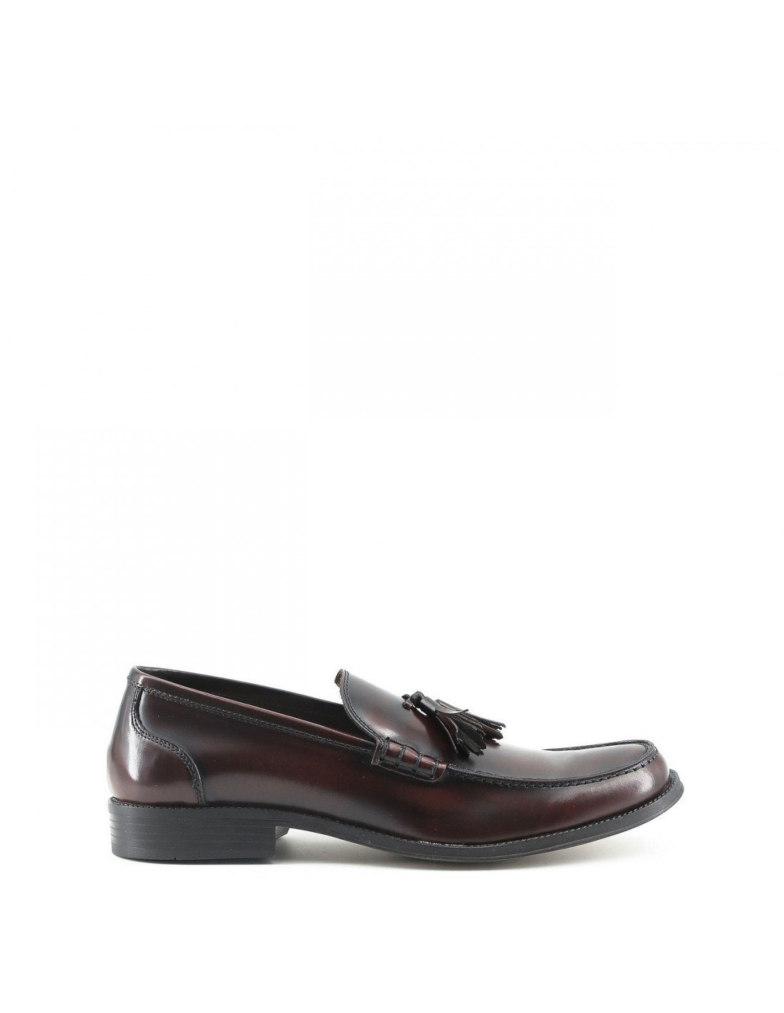 Made In Italia Shoes, Mocasines para Hombre 40 EU|Rojo