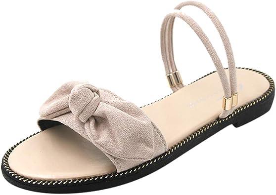 WINJIN Chaussures femme Tongs Femme et Sandales Femme Plates