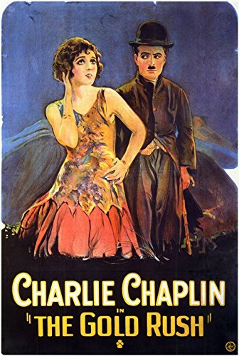 The Gold Rush Poster Movie C 11x17 Charlie Chaplin Mack Swain Tom Murray Georgia Hale - Chaplin Movie Poster