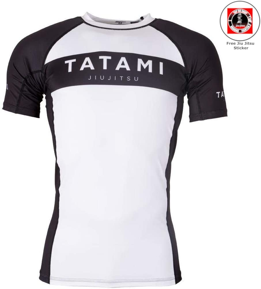 Tatami Rashguard Standard Edition Camiseta de manga larga para hombre color negro