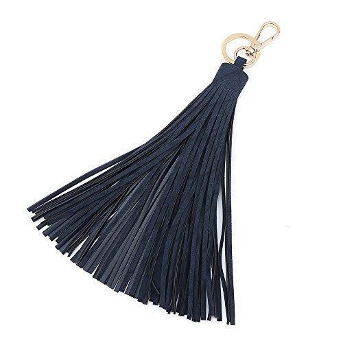 (WYNN Keychain Key Tag Travel Luggage Tag Baggage Handbag Accessory Small Hanging Tassel (Navy))