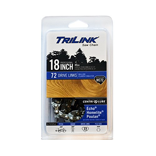 Trilink Saw Chain CL75072NSTL2 18'' Chainsaw Chisel-Chain MC72 by Trilink Saw Chain