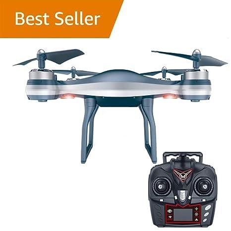 WANGKM Drone FPV RC, 2.4GHz 4-Axis Gyro Quadcopter, para Niños y ...