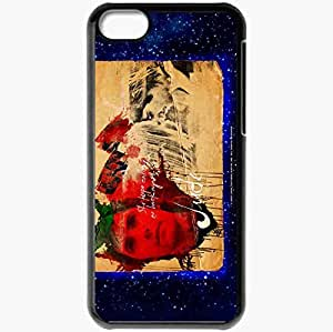 Personalized iPhone 5C Cell phone Case/Cover Skin Across the Universe Jim Sturgess Jude Movies Black by mcsharks