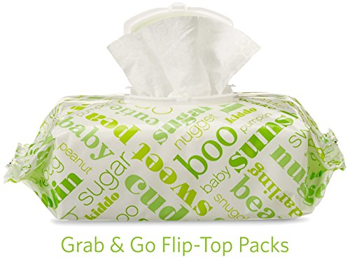 Amazon Elements Baby Wipes, Fresh Scent, 480 Count, Flip-Top Packs by Amazon Elements (Image #5)