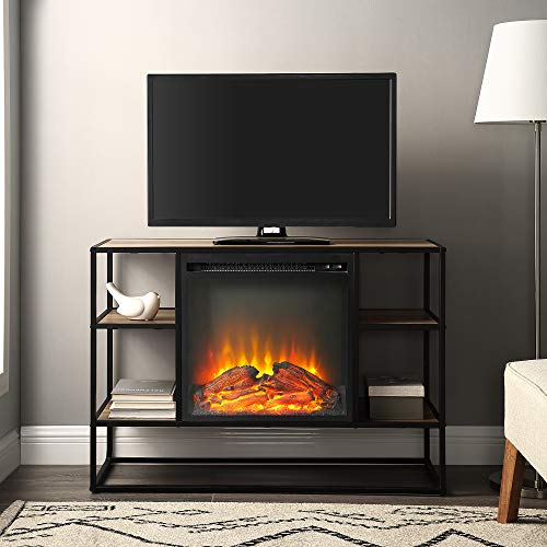 WE Furniture AZ40FPJERRO Fireplace TV Stand, 40