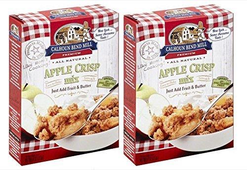 Calhoun Bend Mill Apple Crisp Mix 8 ounce, (Pack of -