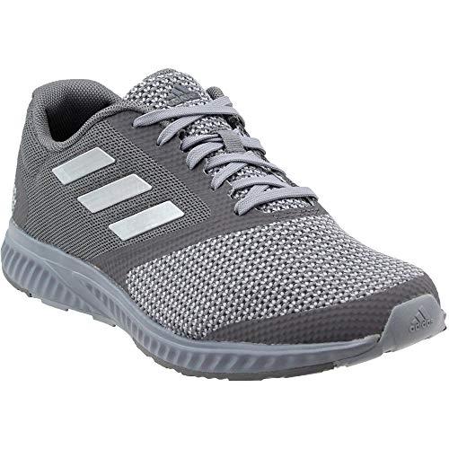 adidas Men's Edge Rc M Running Shoe, Grey/Metallic Silver/Granit, 7.5 Medium US