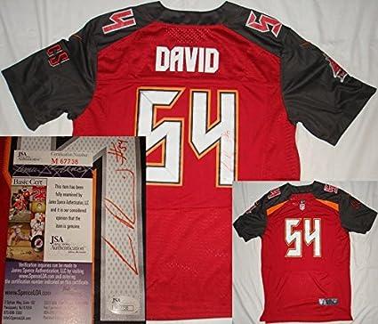 0d8ddf6bd Lavonte David Signed Jersey - Bucs Red M67738 - JSA Certified - Autographed  NFL Jerseys