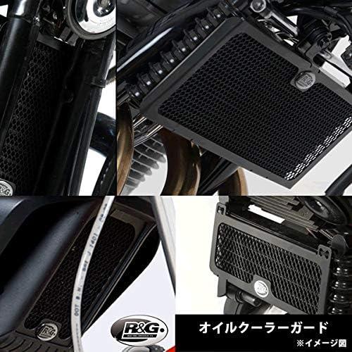 R&G(アールアンドジー) オイルクーラーガード ブラック 650 Interceptor (19-)