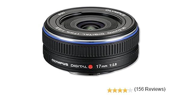 Olympus M.Zuiko Digital 17mm - Objetivo para Micro Cuatro Tercios ...