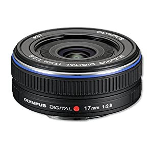 Olympus M. Zuiko 17mm f/2.8 Lens (Black)