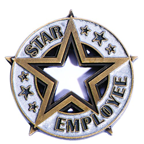 (Star Employee Appreciation Award Lapel Pin, 12)