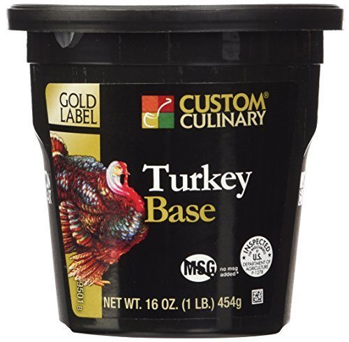 Custom Culinary Gold Label Base Turkey, 1 Pound ()