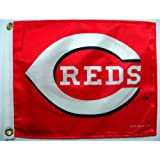 MLB Cincinnati Reds Boat and Golf Cart Flag
