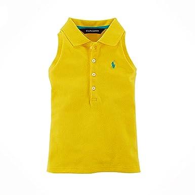 Ralph Lauren Polo para hombre amarillo sólido de 2 - 6 x las niñas ...