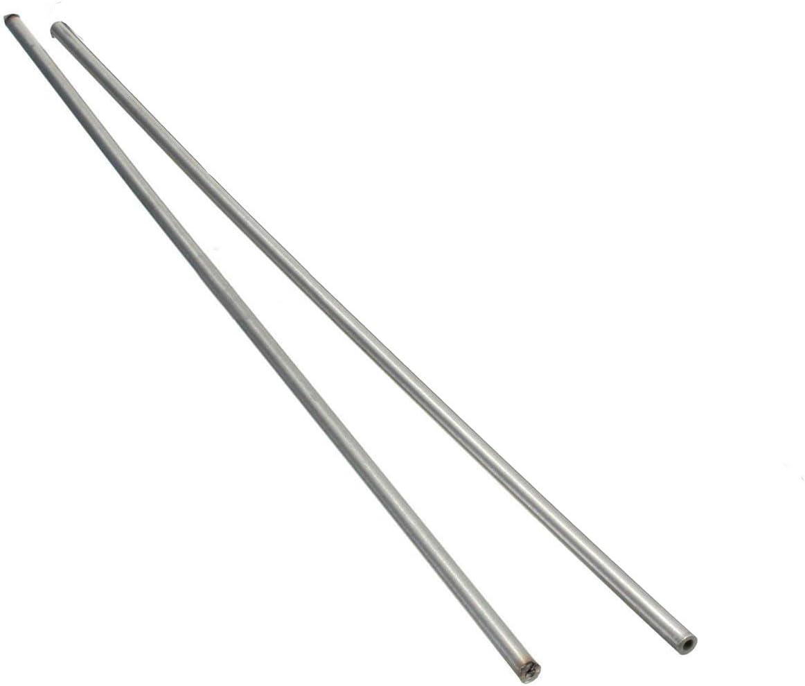 Length 250mm Metal Tool .sZD 304 Stainless Steel Capillary Tube OD 4mm x 3mm ID