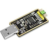 USB to TTL Adapter, USB to Serial Converter for Development Projects - Featuring Genuine FTDI USB UART IC 'FT232RL'