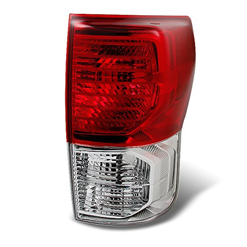 Toyota Pickup Brake (Toyota Tundra Pickup Truck Red Clear Tail Light Rear Brake Lamp Replacement Passenger Right Side)