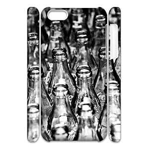 Iphone 5C Case, return for deposit 3D Case for Iphone 5C White