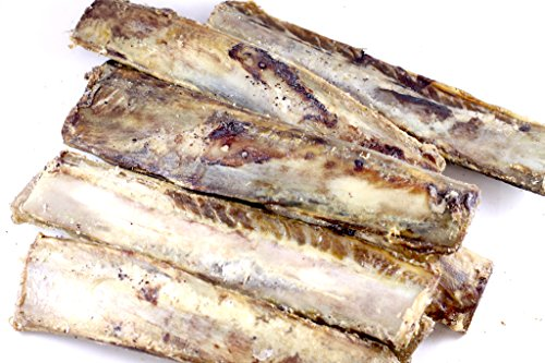 All Natural Beef Rib Bone Chew 3 Pack USDA Approved Sourced & Made USA For Sale