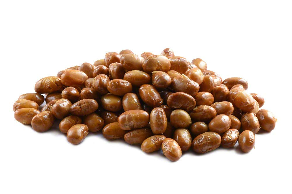 Roasted Soybeans Unsalted (1lb Bag)