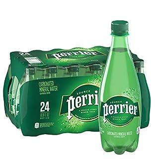 Perrier Carbonated Mineral Water, 16.9 Fl Oz (24 Pack) Plastic Bottles
