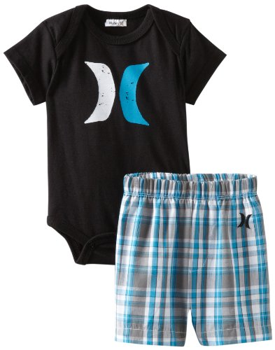 Hurley Baby-boys Newborn 2-Piece Set