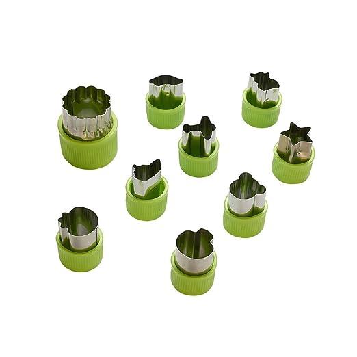Level - Juego de 9 moldes para Cortar ensaladas, Verduras ...