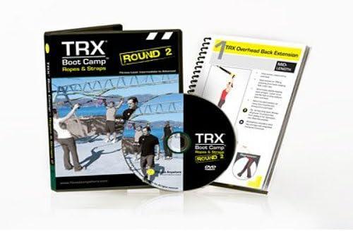 TRX TRXDVDBC2/TU - DVD de campo de entrenamiento: segunda ronda de cuerdas y correas, ejercicios de entrenamiento en suspensión y acondicionamiento ...