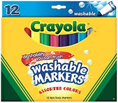 Crayola Washable Markers - Assorted Colors - 12 Count - 2 Packs
