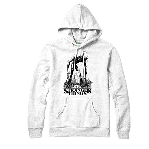 Spoofy Demogorgon Inspired Design White Eleven Tv Adult Clothing Hoodie Top pq1nxf4FpZ