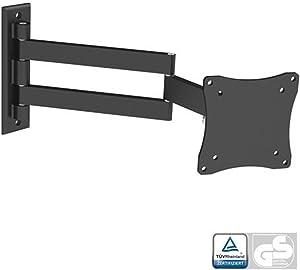 Black Full-Motion Tilt/Swivel Wall Mount Bracket for Acer XB270HU 27