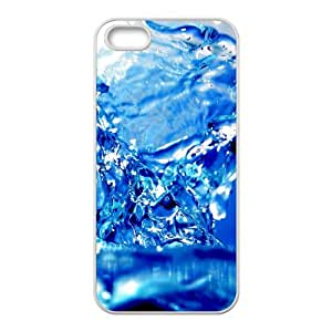 Iphone 5/5S Case, Blue Water Case for Iphone 5/5S White Leemarson if4110773