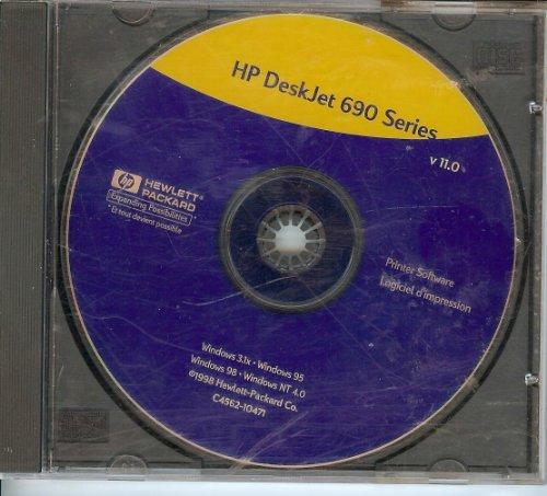 Deskjet Printer Drivers - HP DeskJet 690 Series Printer Software Disc (CD-Rom) (H)