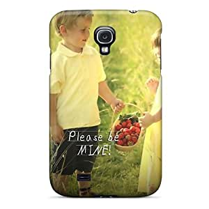 Pretty UOnCo3195dmusY Galaxy S4 Case Cover/ Be Mine Series High Quality Case