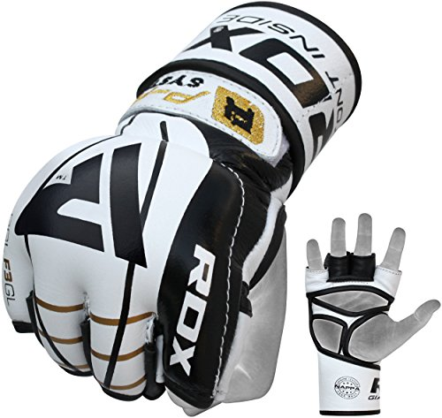 RDX MMA Gloves Sparring UFC Cowhide Leather Grappling for sale  Delivered anywhere in USA