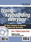 Typing and Keyboarding for Everyone, Nathan Levine, 0768908531