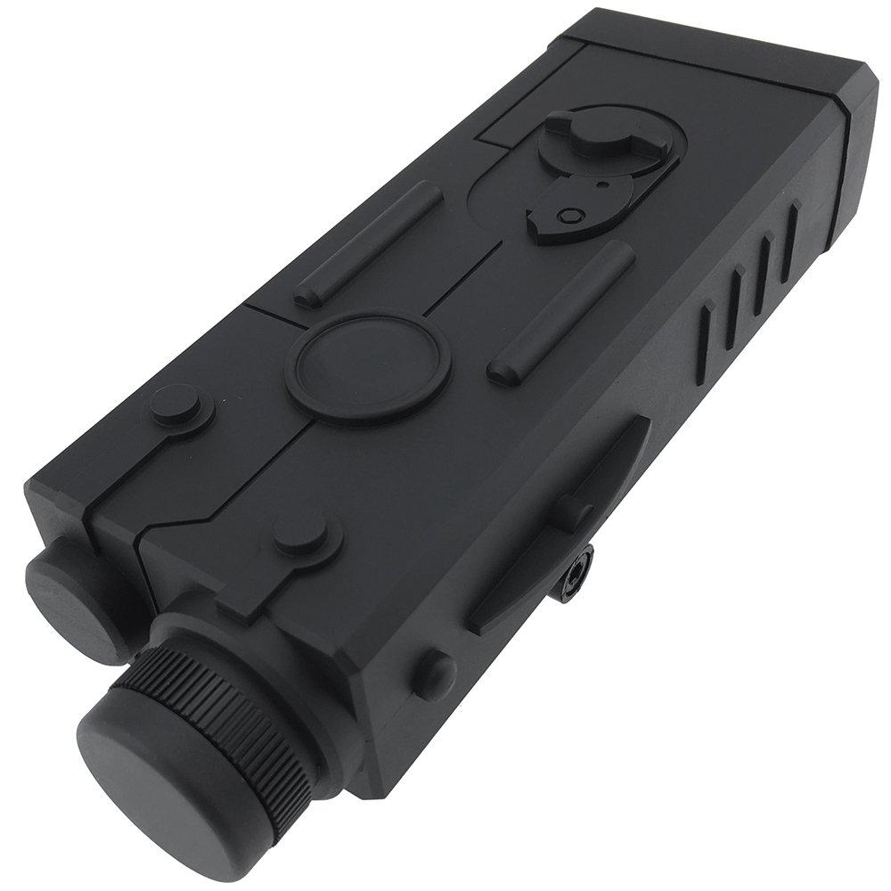 SportPro Polymer MP5 PEQ Style Dummy Battery Box for AEG Airsoft – Black