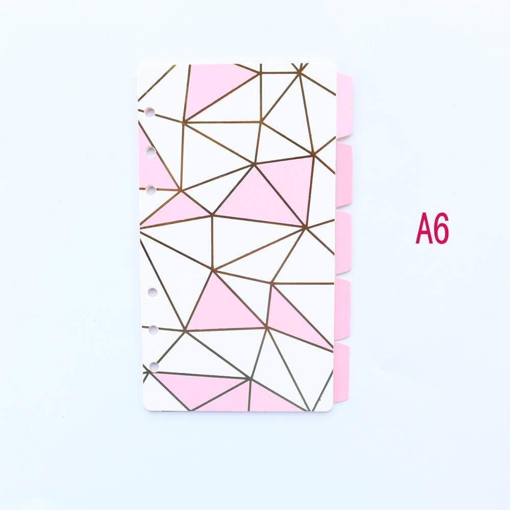 Amazon.com: Divisor de 6 anillas de papel para agenda ...