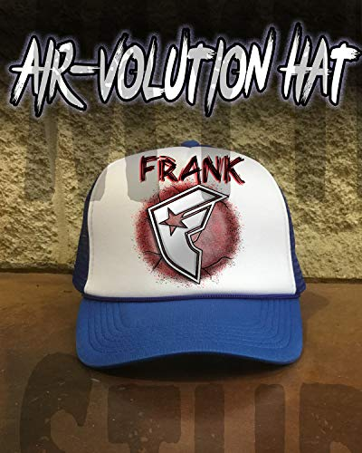 Personalized Airbrushed Famous Snapback Trucker Hat