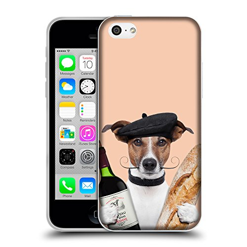 GoGoMobile Coque de Protection TPU Silicone Case pour // Q05590604 Baguette Albicocca // Apple iPhone 5C