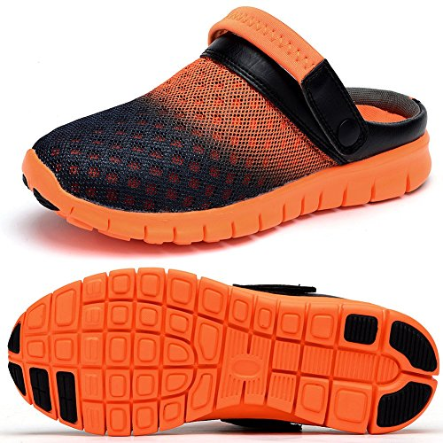 Herren Mesh der Orange Odema Die Schuhe Hausschuhe Sandalen 4Sg4HaWq