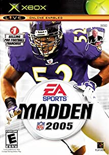 Top Five Madden 2005 Xbox Cover - Circus