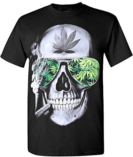 Skull-Weed-Blaze-420-Hip-Hop-Legend-Rappers-T-Shirts
