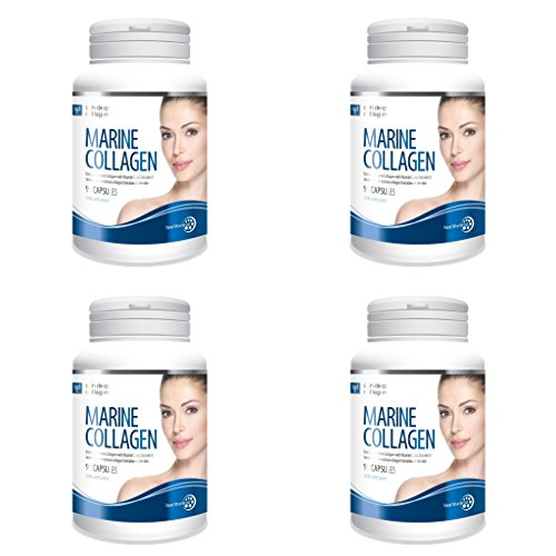 (4 PACK) - Healtharena Marine Collagen Capsules | 90s | 4 PACK - SUPER SAVER - SAVE MONEY by Modern Herbals