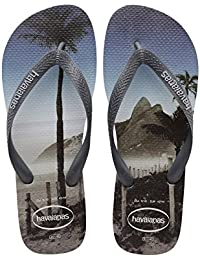 Chinelo Masculino Hype Cinza Havaianas - 4127920