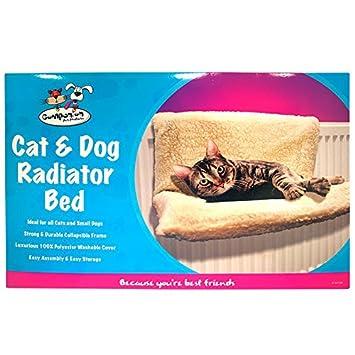 Cat Dog Pet Radiador cama hamaca de forro polar cálido cachorro de gato cuna animales cesta shopmonk: Amazon.es: Productos para mascotas